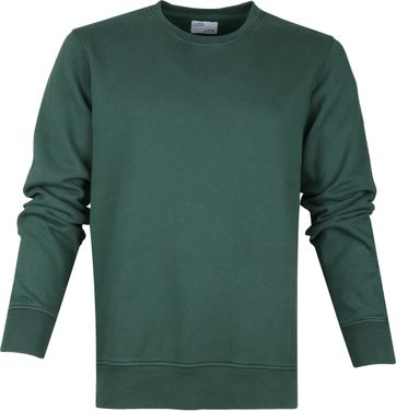 Colorful Standard Sweater Organic Groen