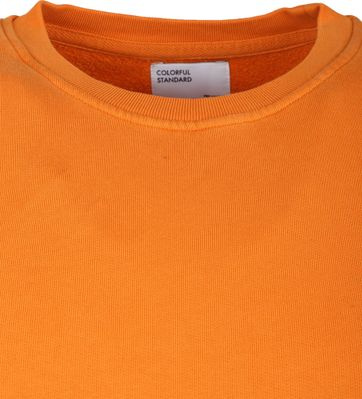 Colorful Standard Sweater Organic Oranje