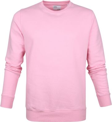 Colorful Standard Sweater Pastel Roze