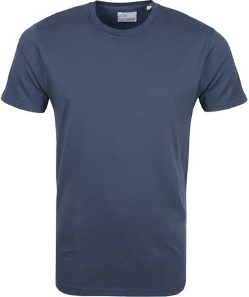 Colorful Standard T-shirt Blauw