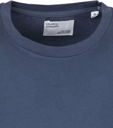 Colorful Standard T-shirt Blue