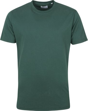 Colorful Standard T Shirt Emerald Green