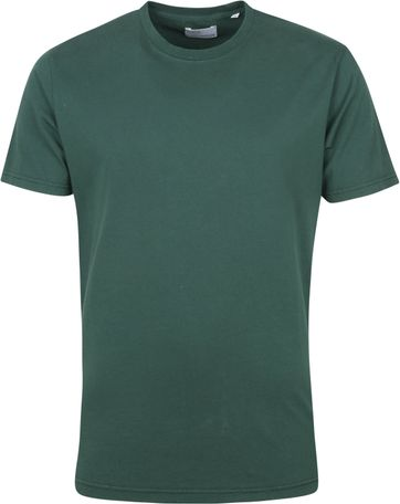 Colorful Standard T Shirt Emerald Grun