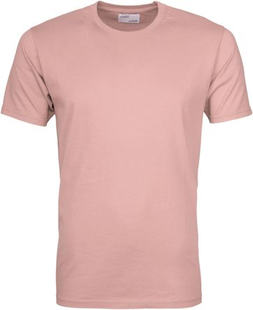 Colorful Standard T-shirt Faded Pink