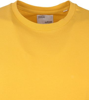 Colorful Standard T-shirt Geel