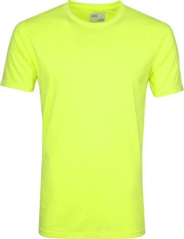 Colorful Standard T-shirt Neon Gelb