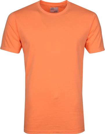 Colorful Standard T-shirt Neon Oranje