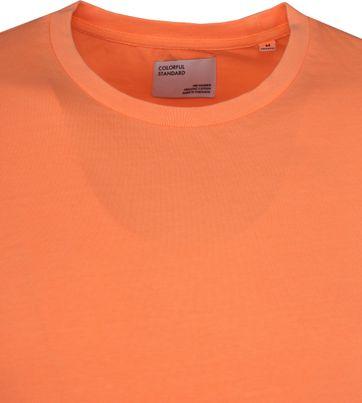 Colorful Standard T-shirt Neon Oranje