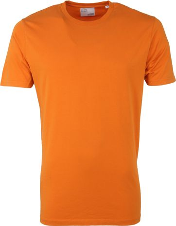Colorful Standard T-shirt Oranje