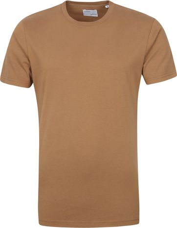 Colorful Standard T-shirt Sahara Camel
