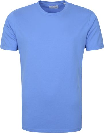 Colorful Standard T-shirt Sky Blauw