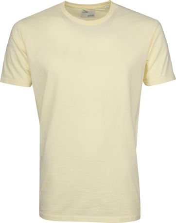 Colorful Standard T-shirt Soft Yellow