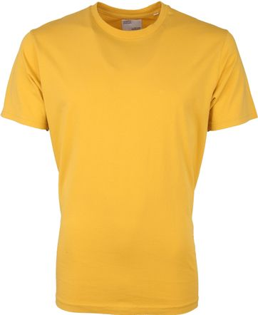 Colorful Standard T-shirt Yellow