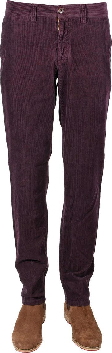 Corduroy Pants Bordeaux