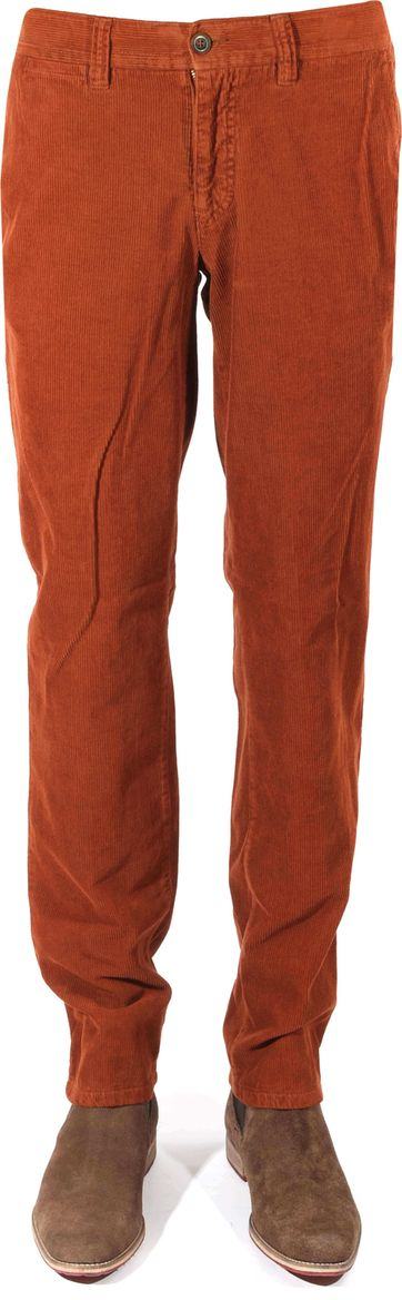 Corduroy Pants Brique