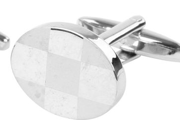 Cufflinks Mat Oval NR272