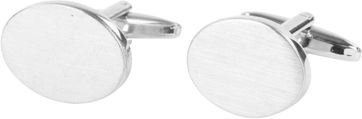 Cufflinks Mat Oval NR31