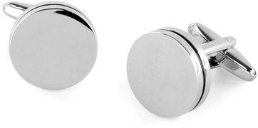 Cufflinks Silver Circle