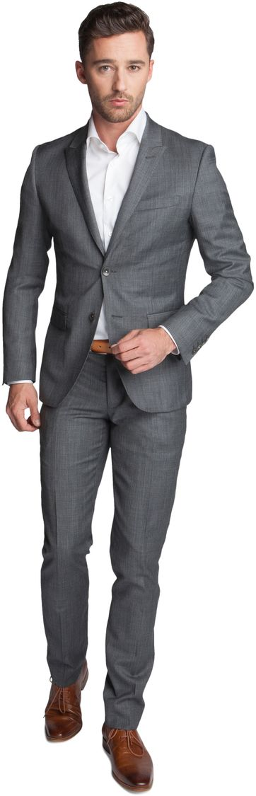 Dark Grey Suit Polman