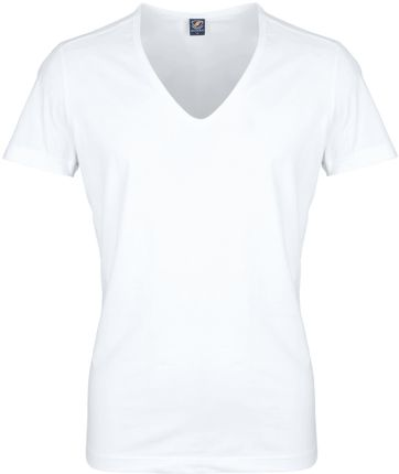 Deep V neck 4-Pack Stretch T-Shirt