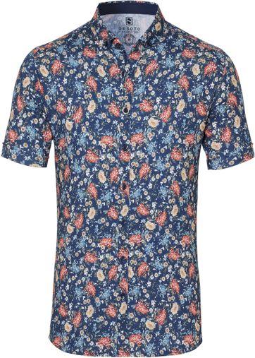 DESOTO Hemd Bügelfrei Blumen