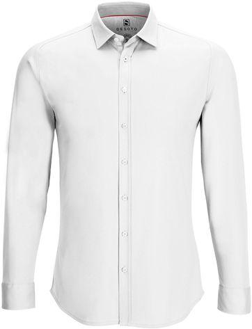 DESOTO Hemd Bügelfrei Modern Weiß