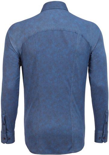 Desoto Hemd Strijkvrij Donkerblauw Oxford