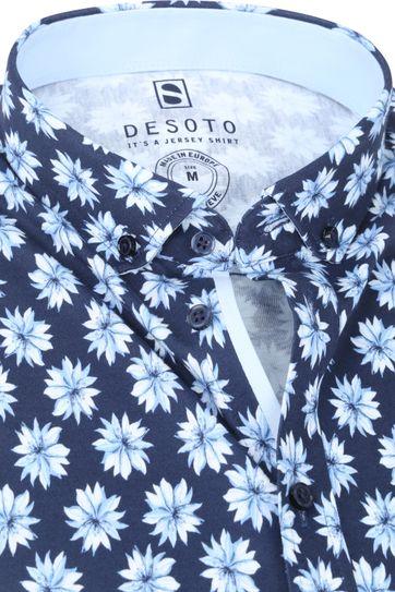 Desoto Modern SS Overhemd Bloem 541