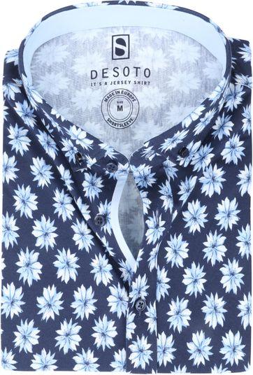 Desoto Modern SS Shirt Flower 541