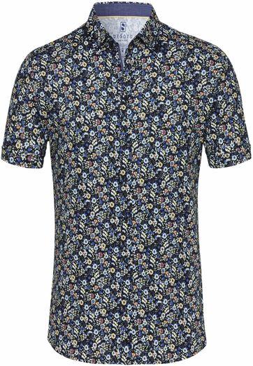 Desoto Overhemd Korte Mouw Bloem