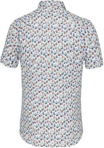 Desoto Overhemd Korte Mouw Bloem 978