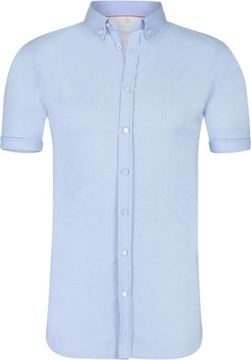 Desoto Overhemd Korte Mouw Lichtblauw