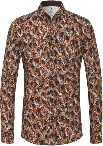 Desoto Overhemd New Hai Bladeren