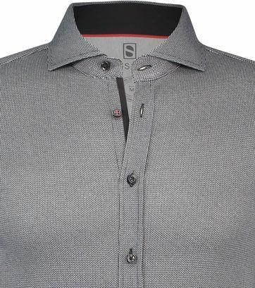 Desoto Overhemd Strijkvrij Antraciet 081