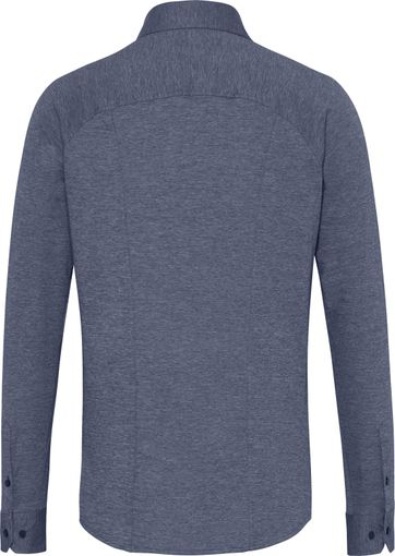 Desoto Overhemd Strijkvrij Blauw 501