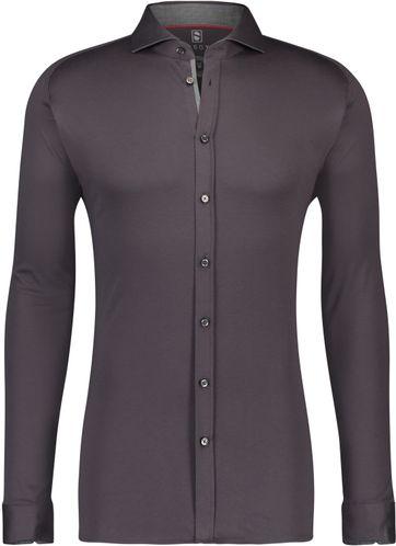 Desoto Overhemd Strijkvrij Grijs