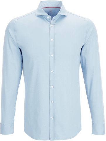 Desoto Overhemd Strijkvrij Lichtblauw 051