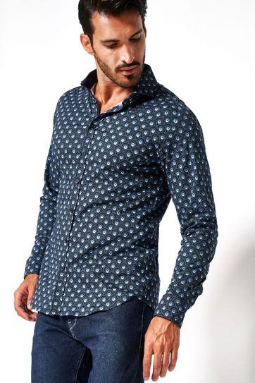 Desoto Overhemd Strijkvrij Print 542
