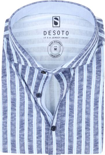 Desoto Overhemd Strijkvrij Strepen 539