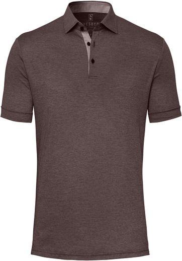 Desoto Polo Shirt Hai Braun