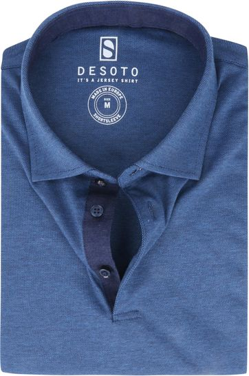 Desoto Polo Shirt Hai Dark Blue