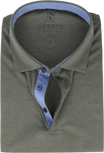 Desoto Polo Shirt Hai Dark Green