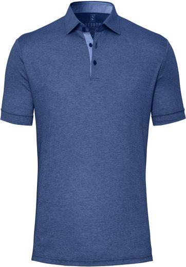 Desoto Polo Shirt Hai Dunkelblau