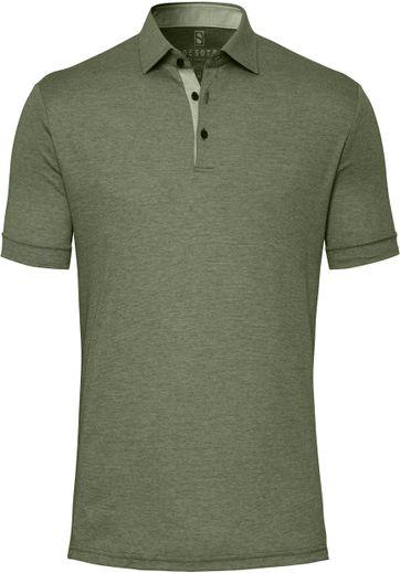 Desoto Polo Shirt Hai Dunkelgrun