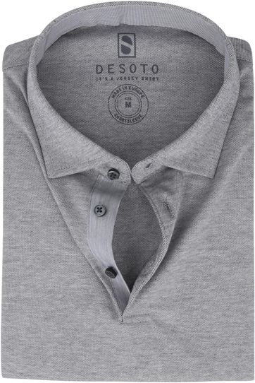 Desoto Polo Shirt Hai Grey