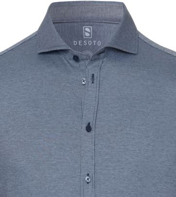 Desoto Shirt New Hai Blue