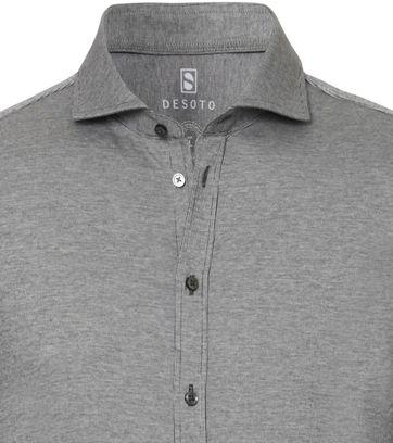 Desoto Shirt New Hai Dark Grey