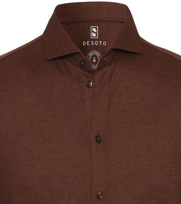 Desoto Shirt Non Iron Brown 851