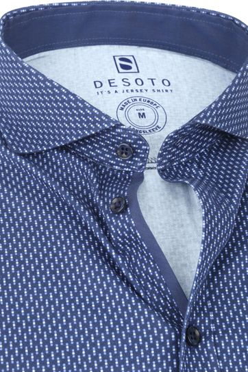 Desoto Shirt Non Iron Dots 523