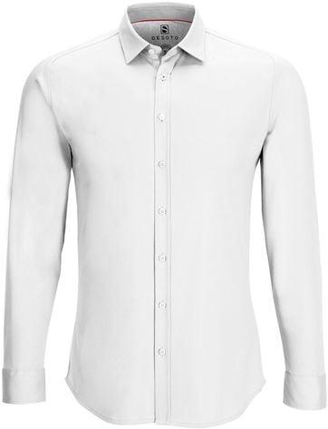 Desoto Shirt Non Iron Modern White